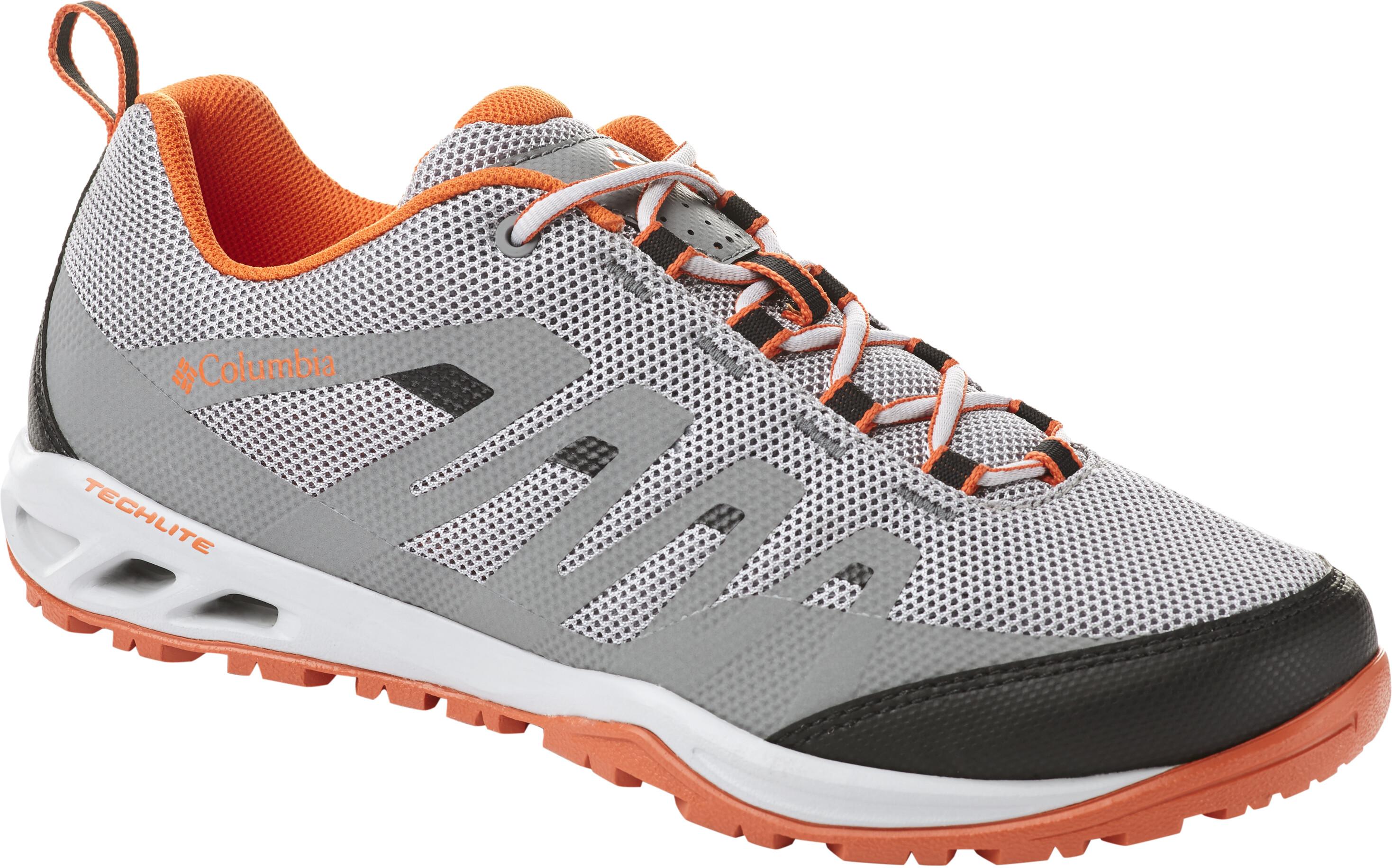 2af81c9b1596 Columbia Vapor Vent Shoes Men Smokey Haze Tangy Orange